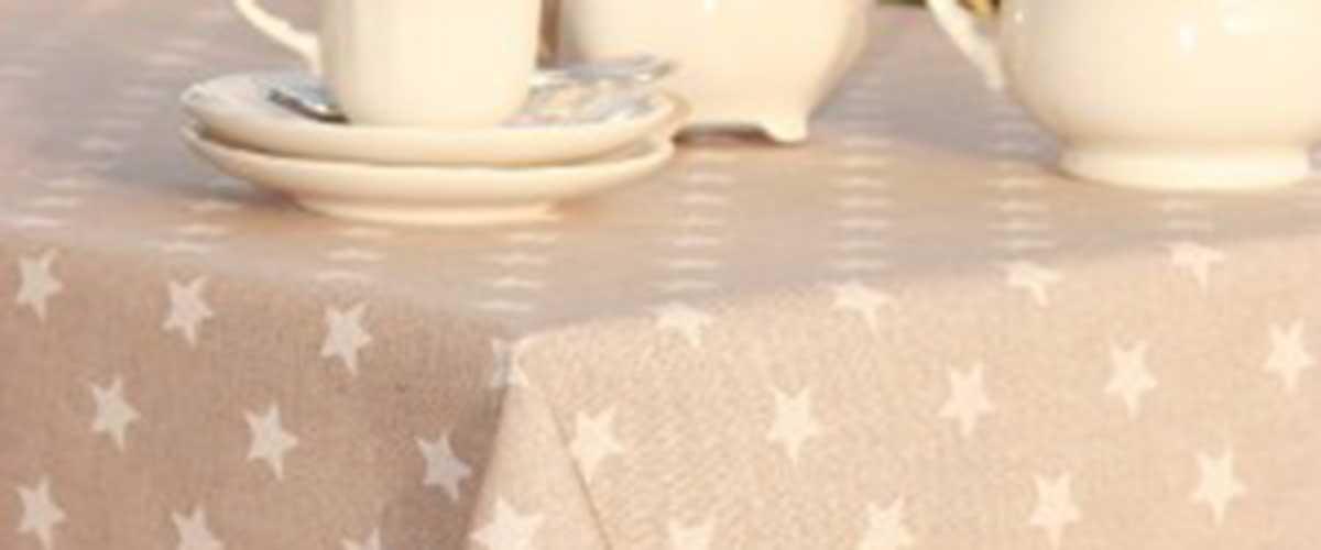 mantel resinado estrellas