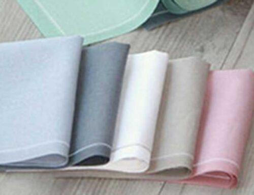 Nuevas servilletas de tela en rollo