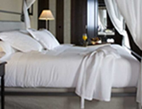 Sabanas de algodón egipcio para dormir como en un hotel