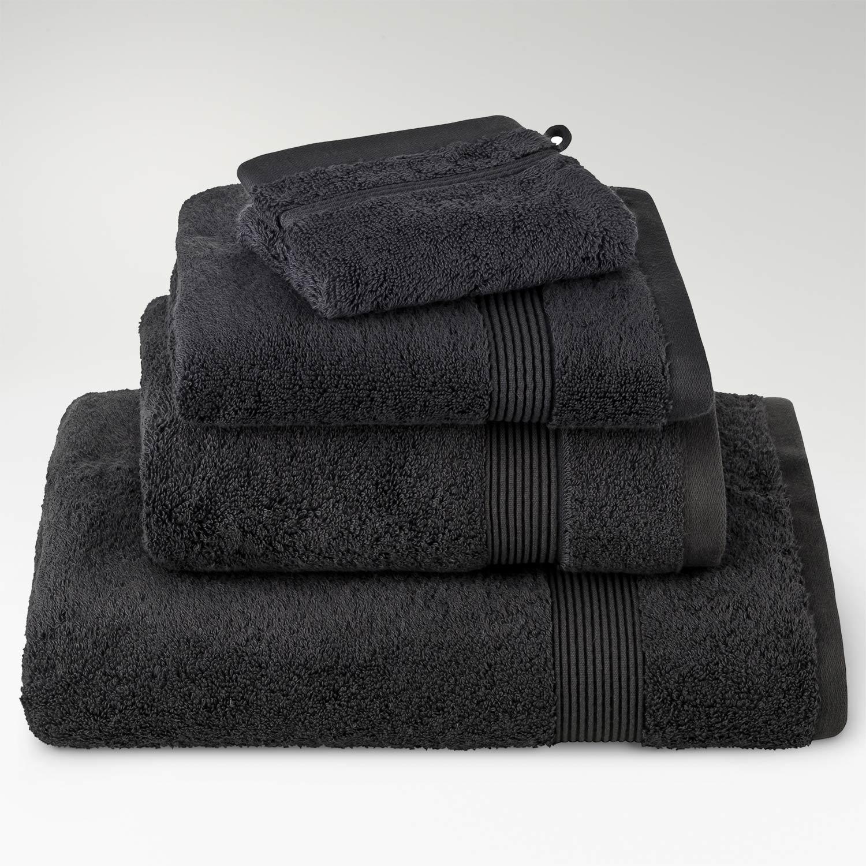 toallas algodón supima pizarra