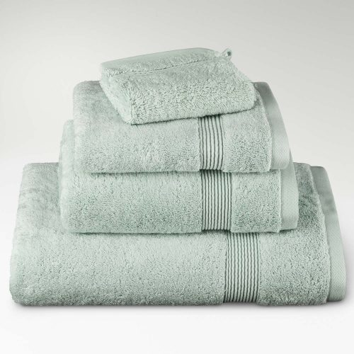 toallas algodón supima verde clarito