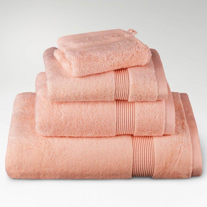 toallas algodón supima rosa