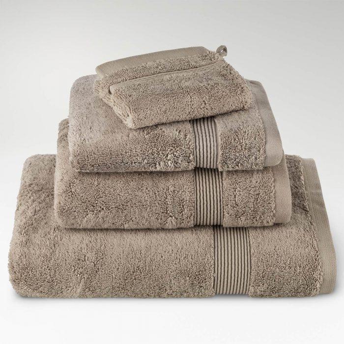 toallas algodón supima topo