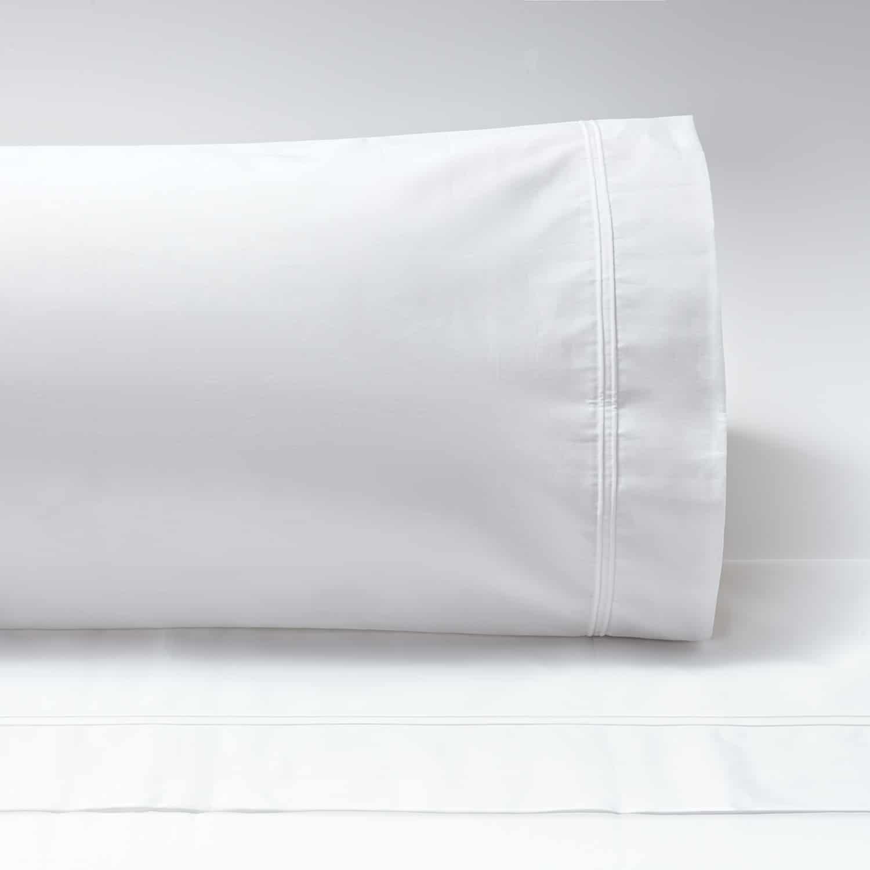 Almohadas Percal 600 doble jareta recta