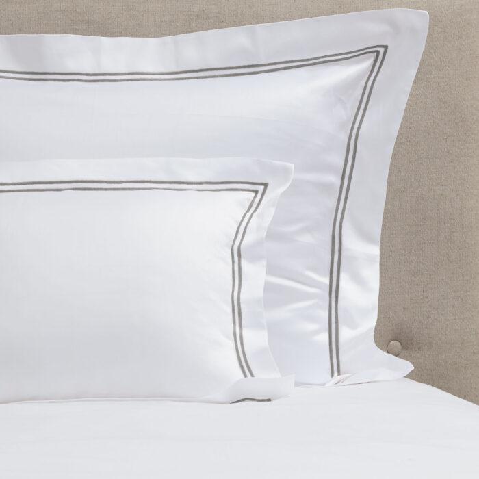 cuadrantes algodón saten600 2 festones gris