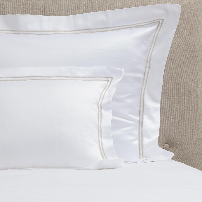 cuadrantes algodón saten600 2 festones beige