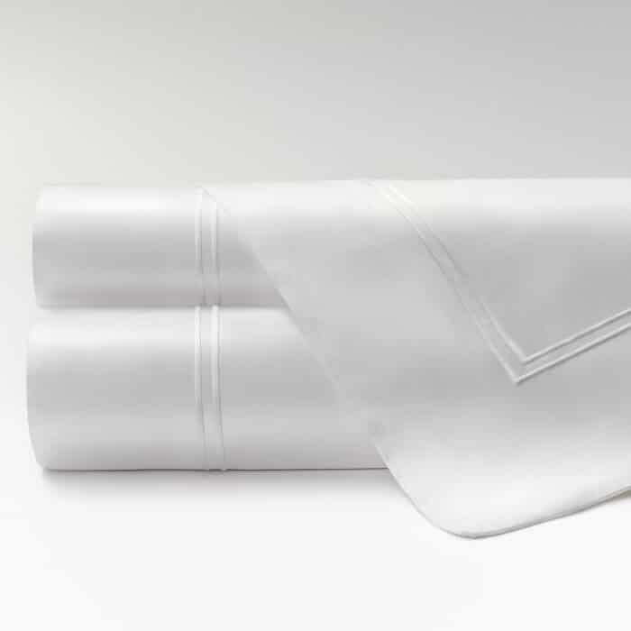 sábanas percal supima 600 hilos dos jaretas rectas
