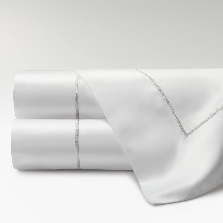 sábanas percal supima 700 hilos feston perla