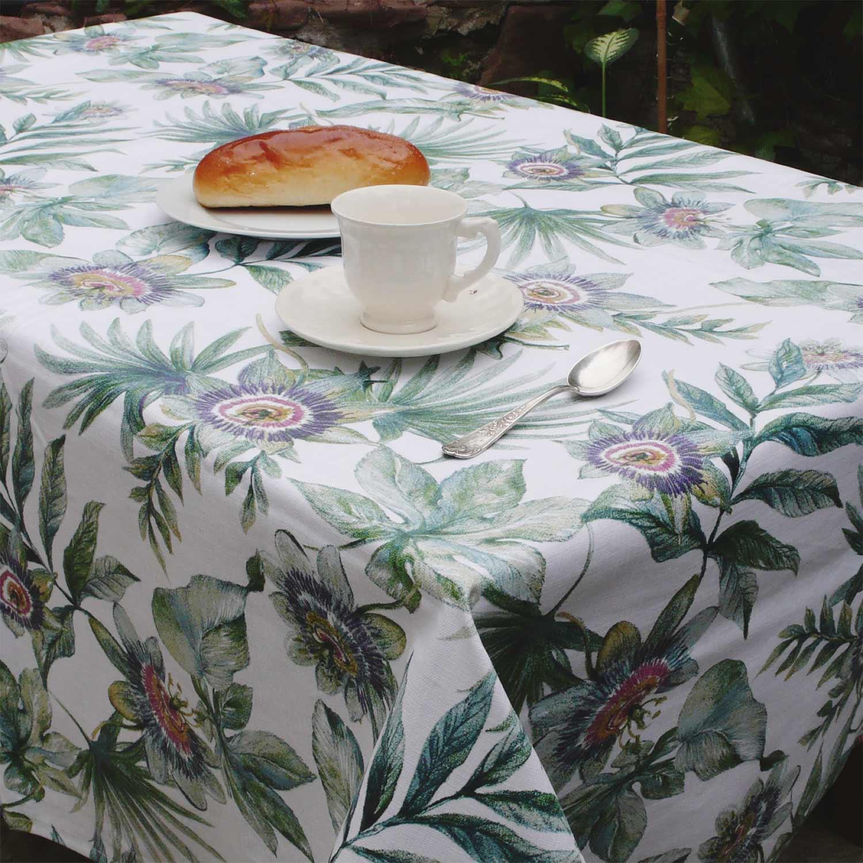 mantel resinado passiflora
